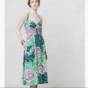 Moulinette Soeurs Rosamund Floral Dress Anthro 0